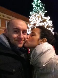 Under Italian Christmas tree