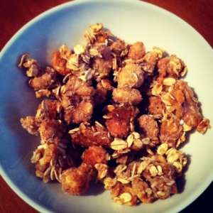 Honey Walnut Clusters
